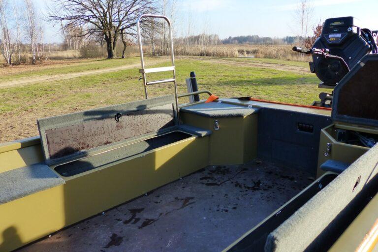 Алюмінієвий човен болотохід